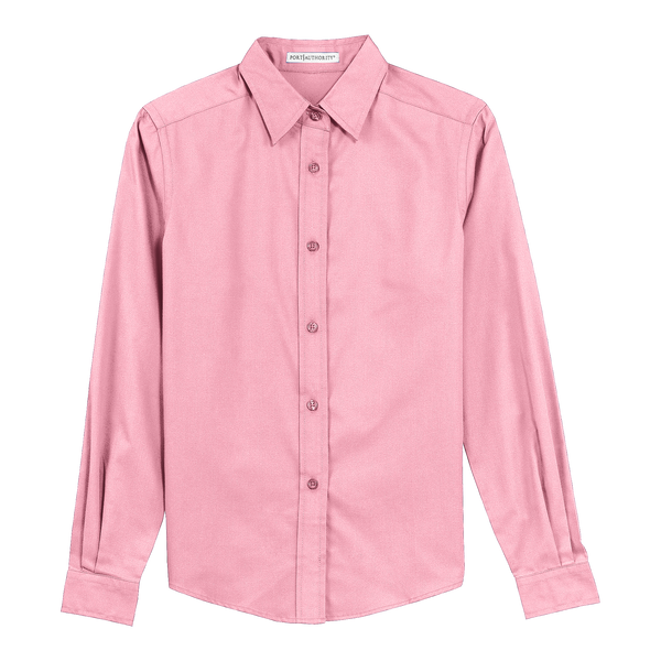 D1309W Ladies Easy Care Long Sleeve Shirt