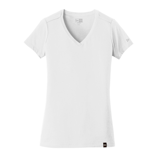 D1854V Ladies Heritage Blend V-Neck Tee