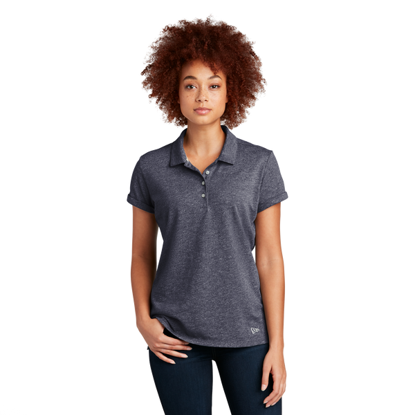 D2047W Ladies Slub Twist Polo
