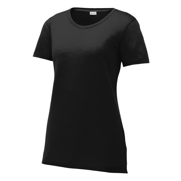 D1825W  Ladies Competitor Cotton Touch Scoop Neck Tee