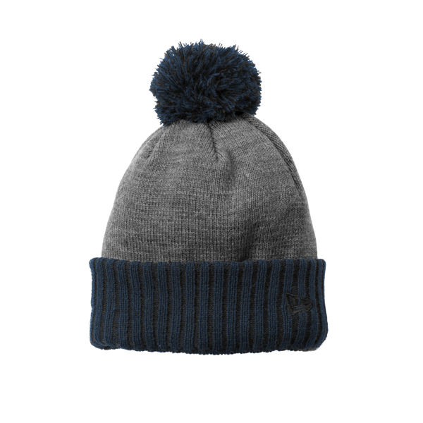 D1879 Colorblock Cuffed Beanie