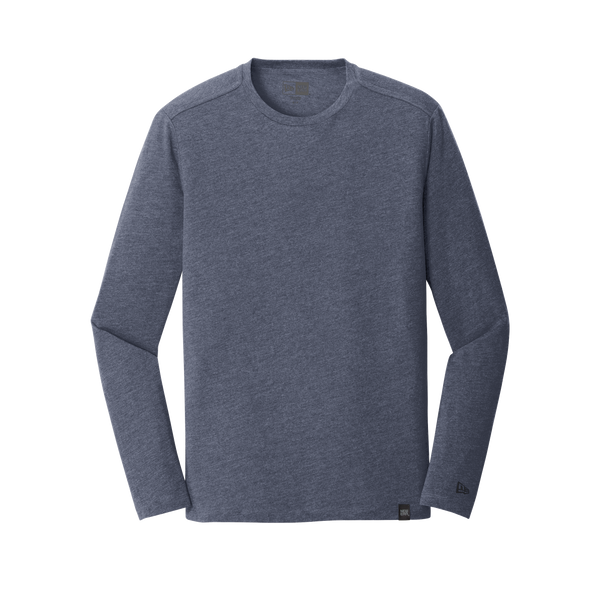 D1854LS Mens Heritage Blend Long Sleeve Crew Tee
