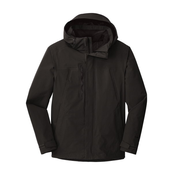 _D1913 Mens Traverse Triclimate 3-in-1 Coat*