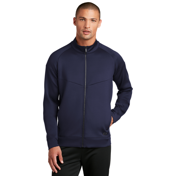 D2046M Mens Modern Performance Full-Zip
