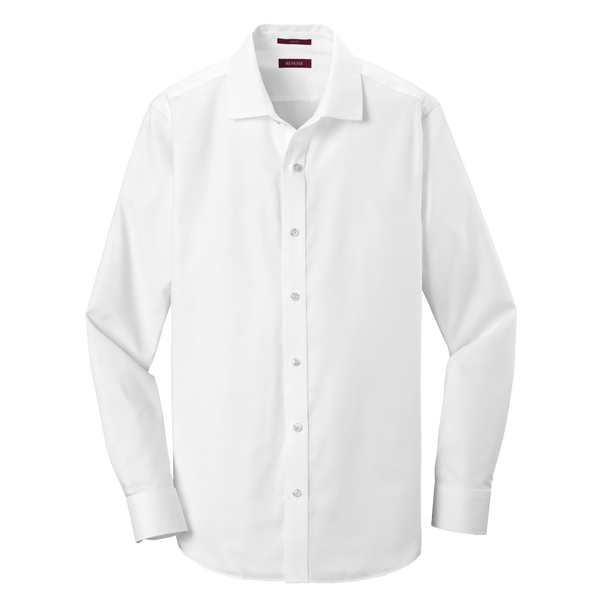 D1929S Mens Slim Fit Pinpoint Oxford Non-Iron Shirt