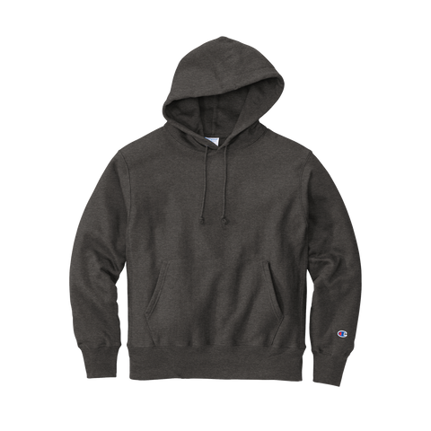 D2056 Reverse Weave Hooded Sweatshirt