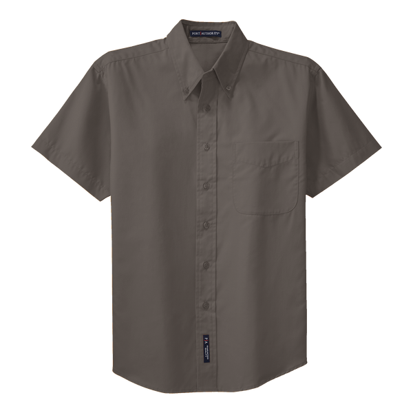 D1310M Mens Easy Care Short Sleeve Shirt