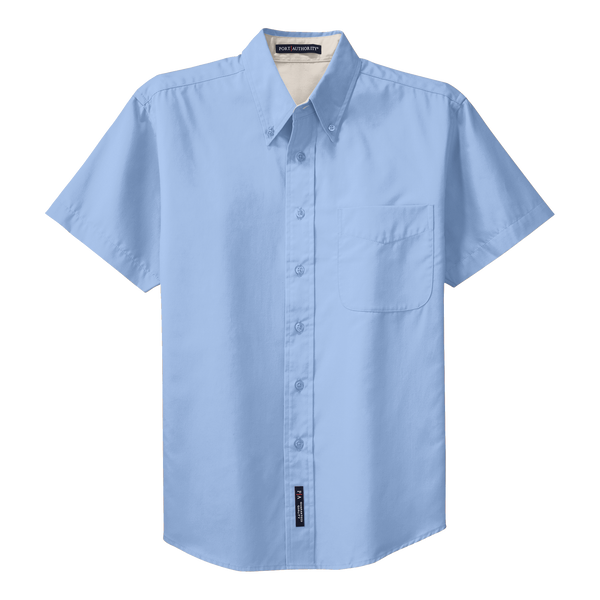 _D1310M Mens Easy Care Short Sleeve Shirt*