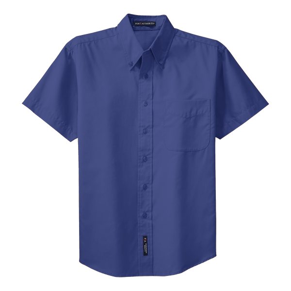 D1310MT Mens Easy Care Short Sleeve Tall Shirt