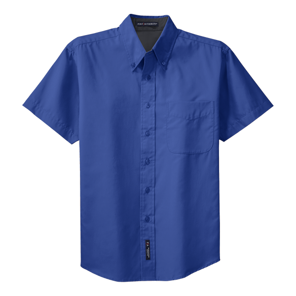 _D1310MT Mens Easy Care Short Sleeve Tall Shirt*