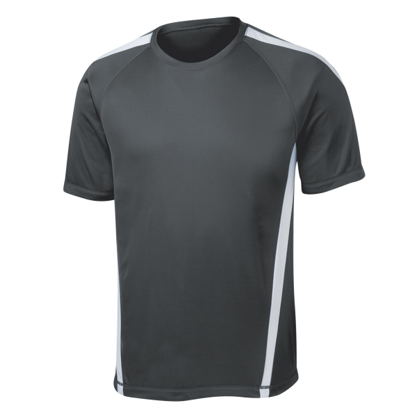 D1416M Mens Colorblock Competitor Tee