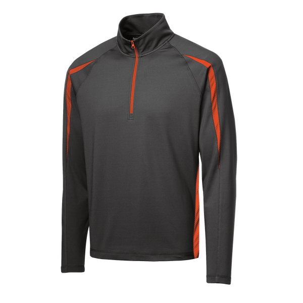 D1402 Mens Stretch 1/2 Zip Jacket