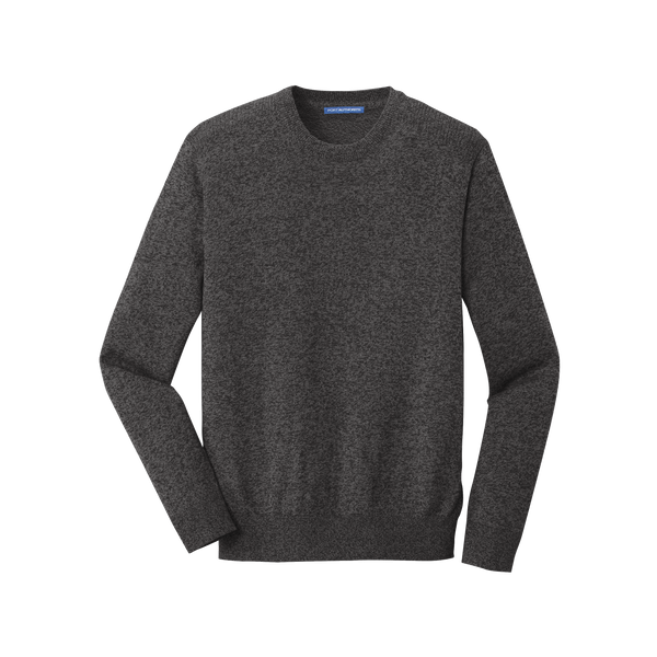 D1933 Mens Marled Crew Sweater