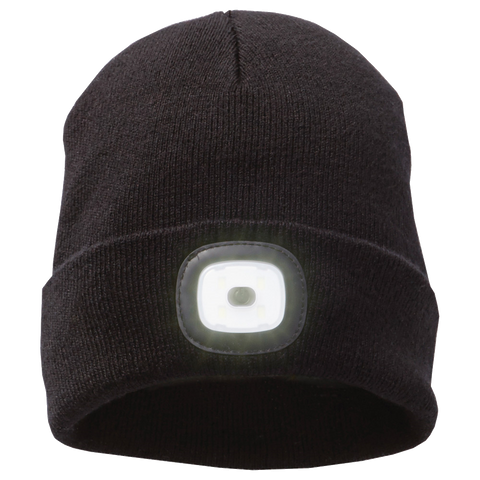 D1812 Mighty LED Knit Toque Cap