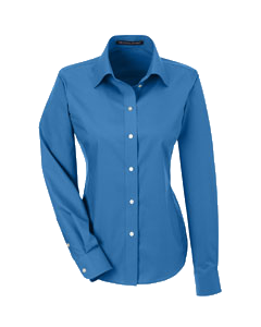 D1934W Ladies Crown Woven Solid Broadcloth Shirt