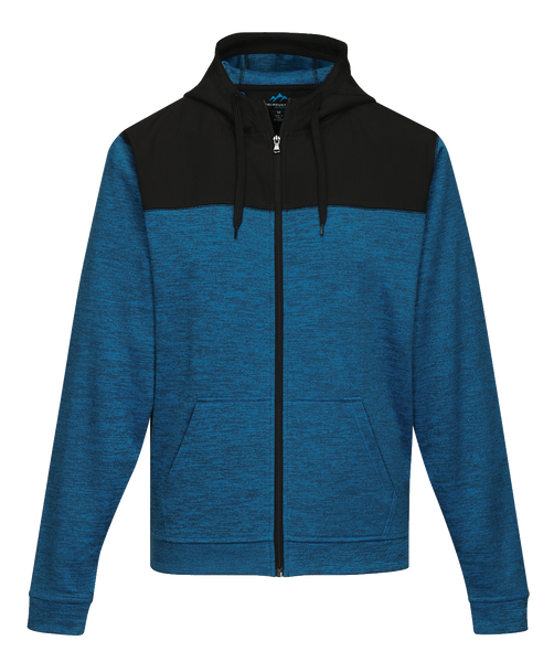 D1724 Mens Vault Full Zip Hooded Fleece Jacket