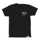 Music Without Limitations Pocket Tee - Black