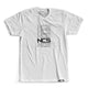 Classic Repeated Tee - White