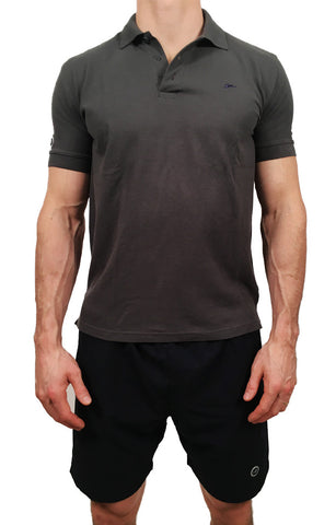 Mens Polo Dark Grey