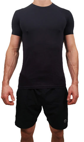 Mens Stretch T-Shirt Navy