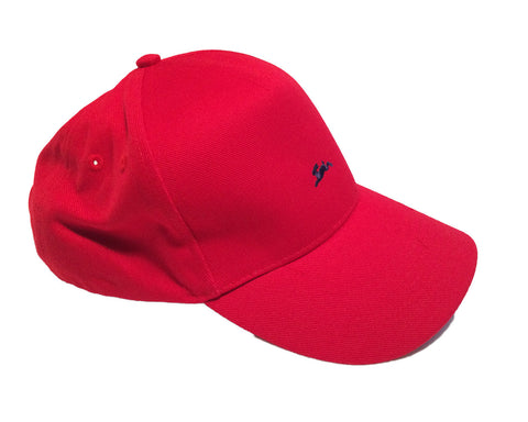 Unisex Running Hare Cap Red