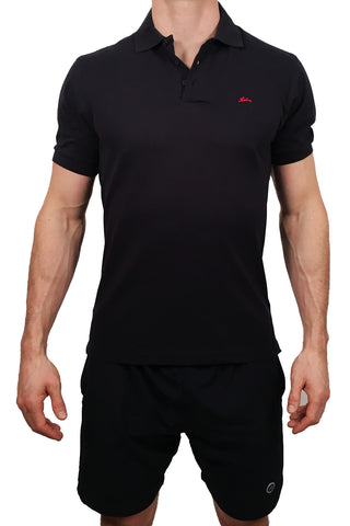 Mens Heavyweight Polo  Navy