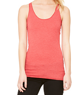 Ladies Racerback Vest Red