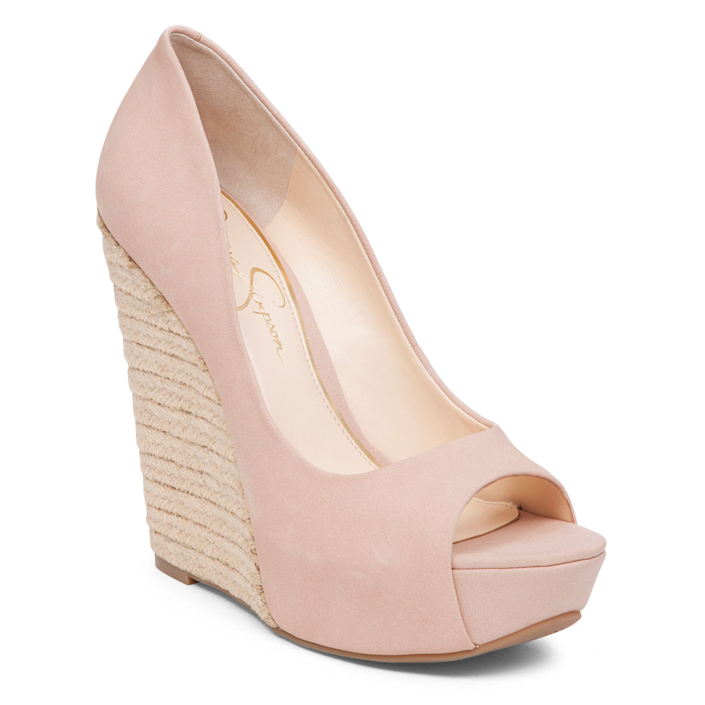 f54268b02030 ... Jessica Simpson Bethani Wedge Platform Pump - Petite Shoes