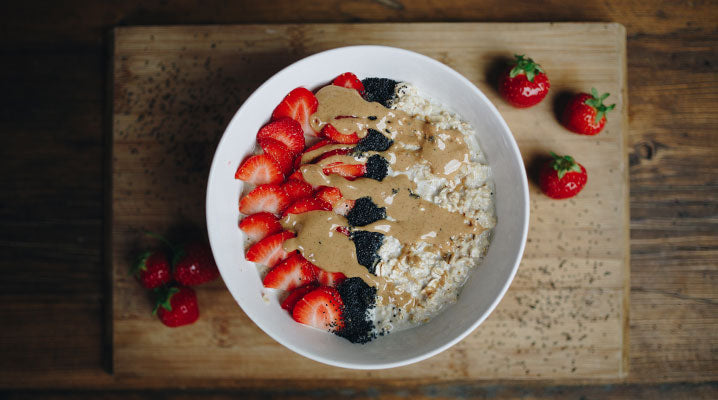 Chia Seed, Strawberry and Almond Butter