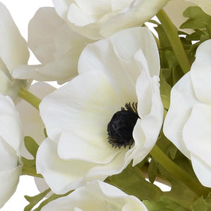 Anemone Arrangement - White - New Growth Designs
