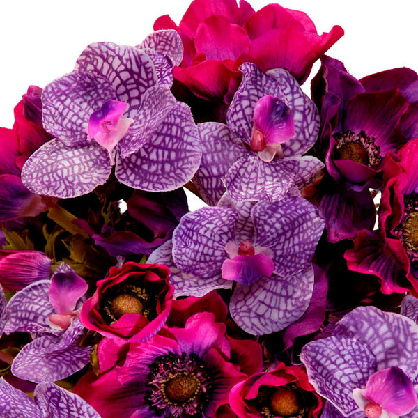Anemone & Vanda Orchid - New Growth Designs