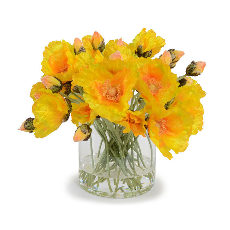 Poppy Bouquet, Yellow