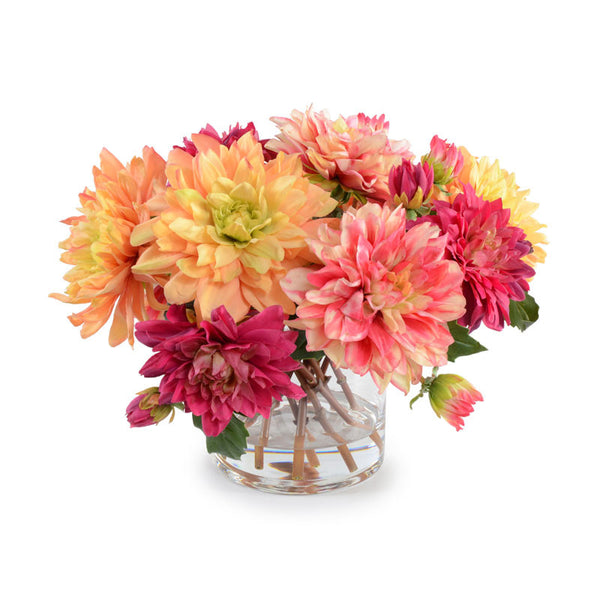 Mixed Dahlia Arrangement