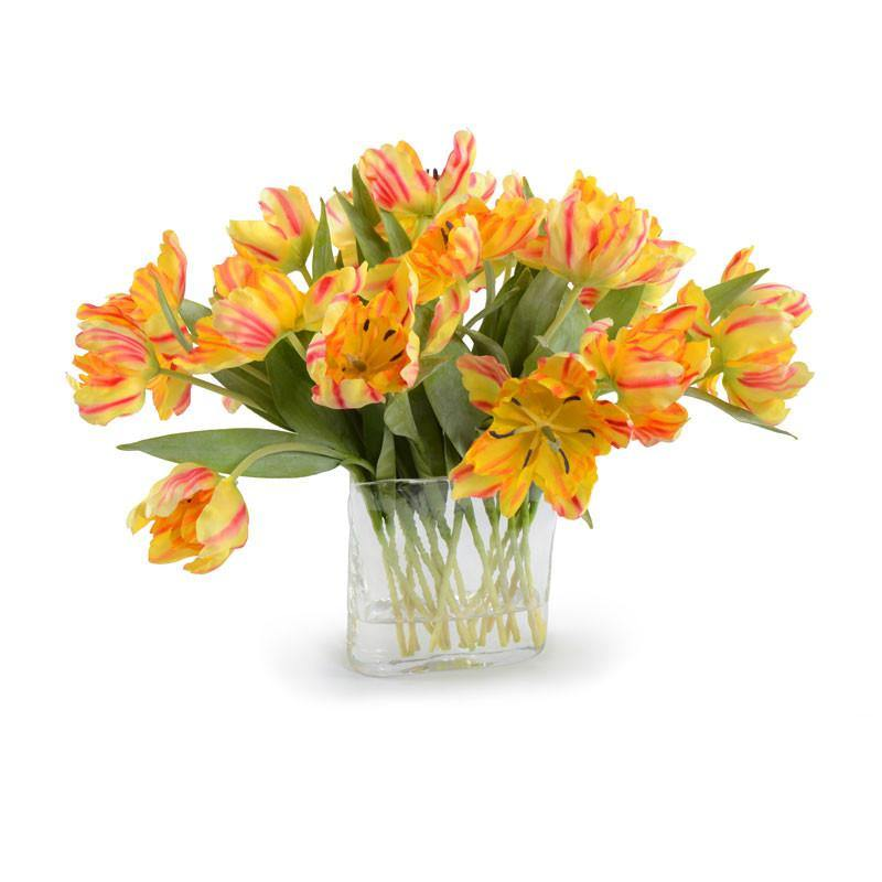 Tulip Arrangement - Yellow-Orange