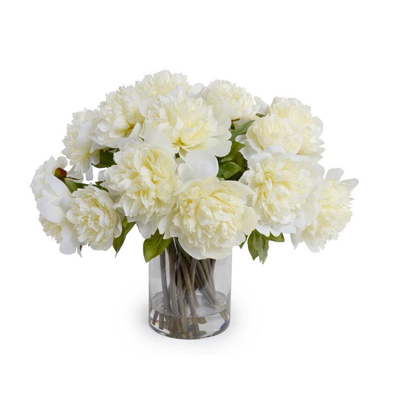 Peony Bouquet - Cream - New Growth Designs