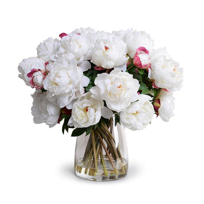 Peony Bouquet (Large) - White - New Growth Designs