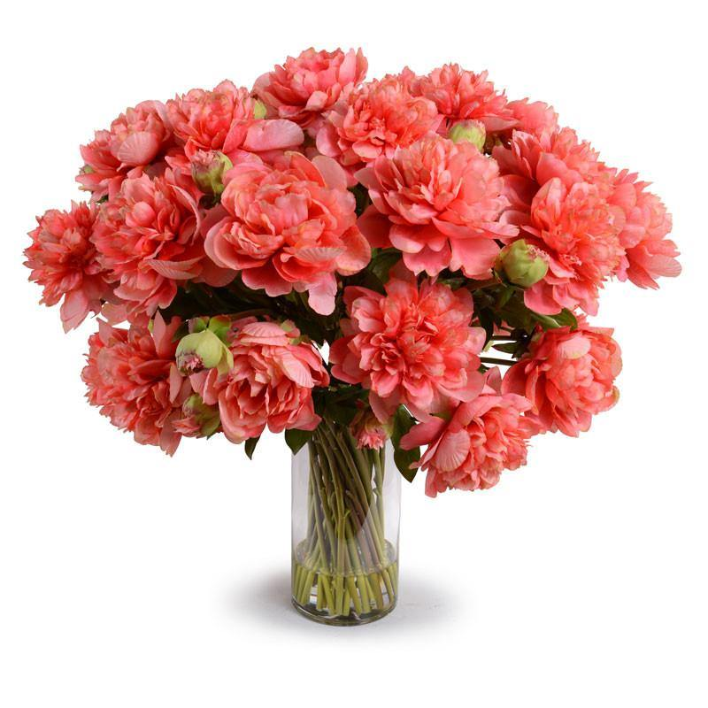 Large Peony Bouquet - Coral - New Growth Designs