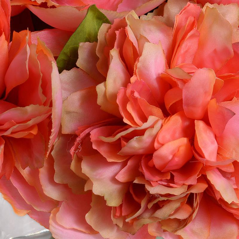 Peony Bouquet - Coral