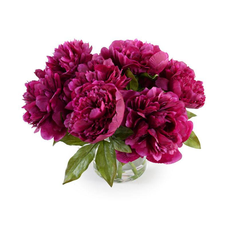 Peony Bouquet - Purple - New Growth Designs