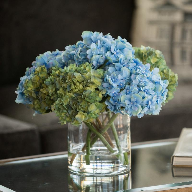Hydrangea Arrangement - Blue-Green