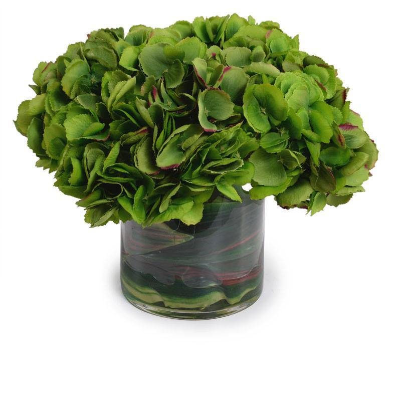 Hydrangea Bouquet, Dark Green - New Growth Designs