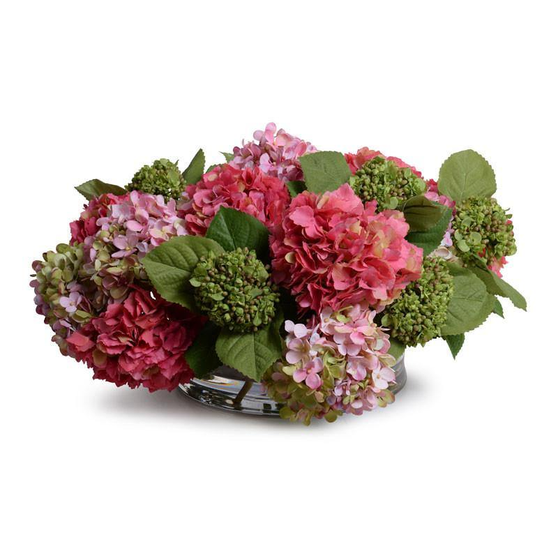 Hydrangea Centerpiece - New Growth Designs