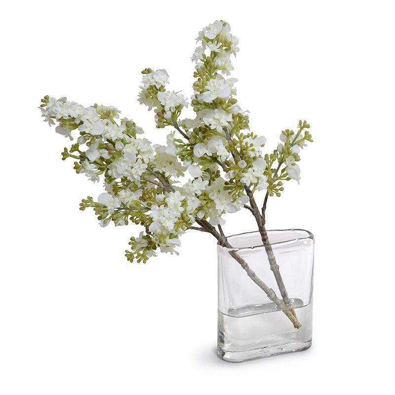 Lilac Spray Arrangement - White