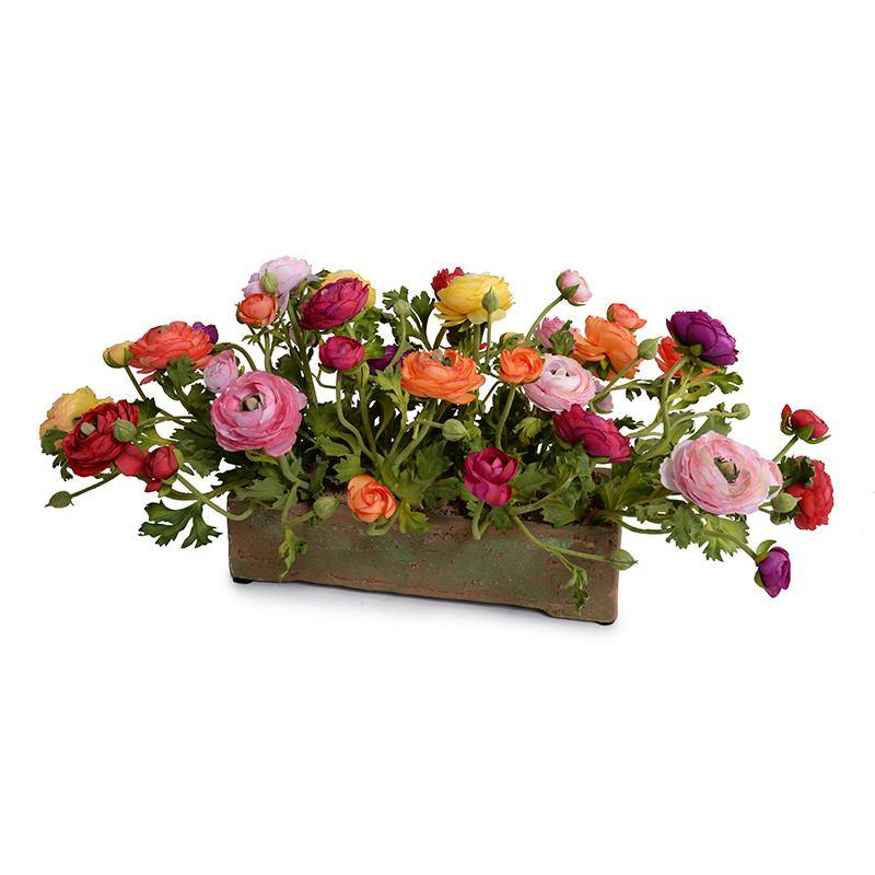 Ranunculus Centerpiece - Mixed