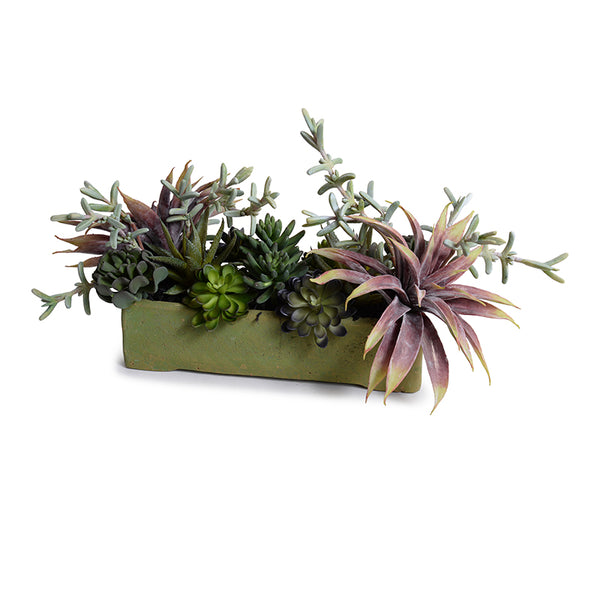Succulents Long Planter