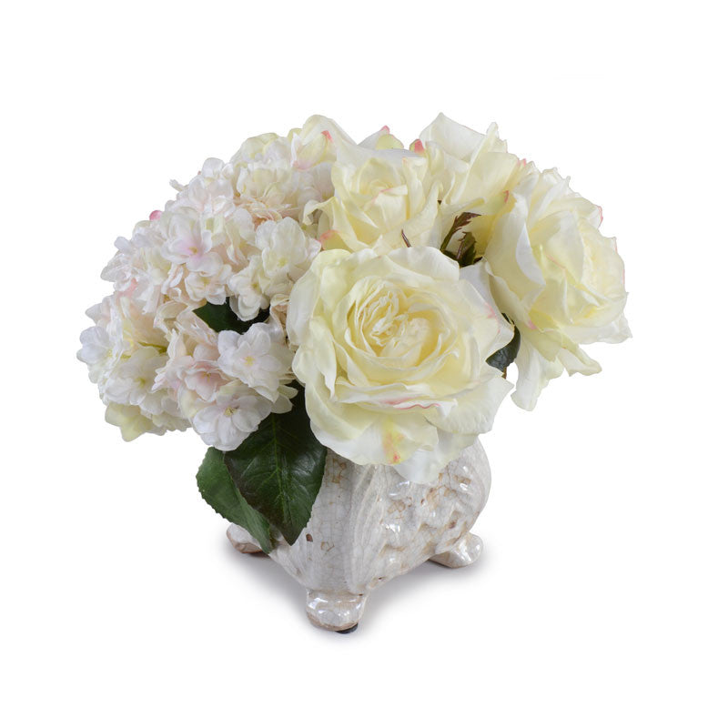 Hydrangea, Peony, Rose Bouquet - New Growth Designs