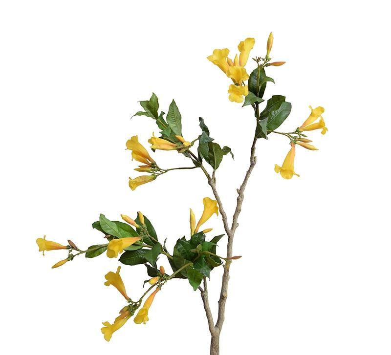 "Allamanda Flower Branch, 32"" L"