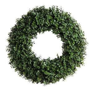"28"" Boxwood Wreath - New Growth Designs"
