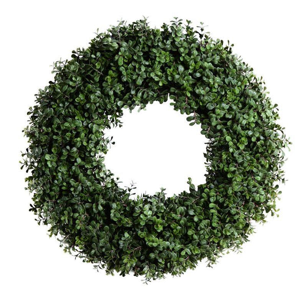 "18"" Boxwood Wreath - New Growth Designs"