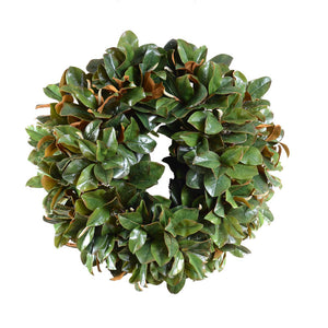 "36"" Magnolia Leaf Wreath, Grand Luxe - New Growth Designs"